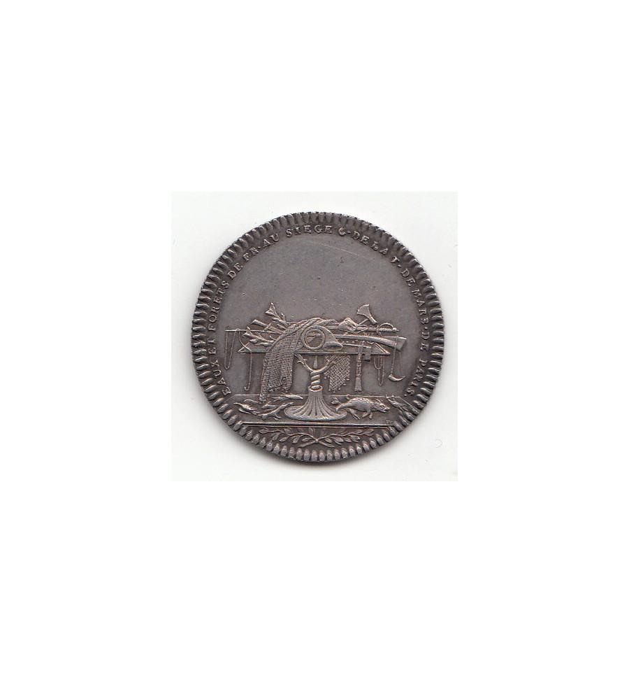 Jeton louis xv eaux et for ts 1743 jetons et medailles for Eaux et forets