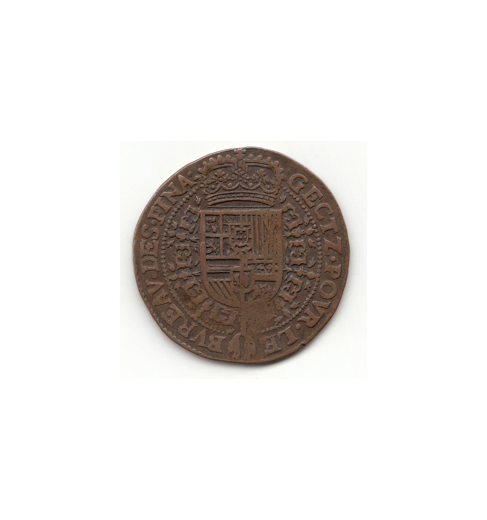 flandres jeton philippe iv bureau des finances 1644 jetons et medailles. Black Bedroom Furniture Sets. Home Design Ideas
