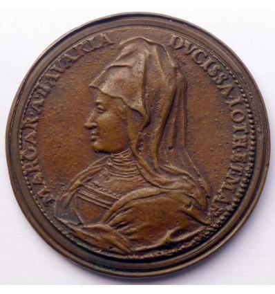 Marguerite de Wittelsbach et Charles II de Lorraine par Saint-Urbain s.d.