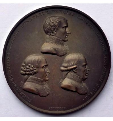 Consulat promulgation du traité d'Amiens 1802