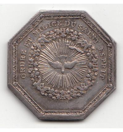 Jeton Louis XVI ordre du Saint-Esprit s.d.