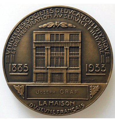 Alphonse Chéron la maison du jeune français 1933