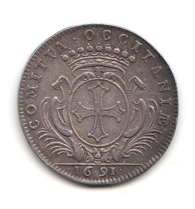 Jeton Louis XIV Etats du Languedoc 1691