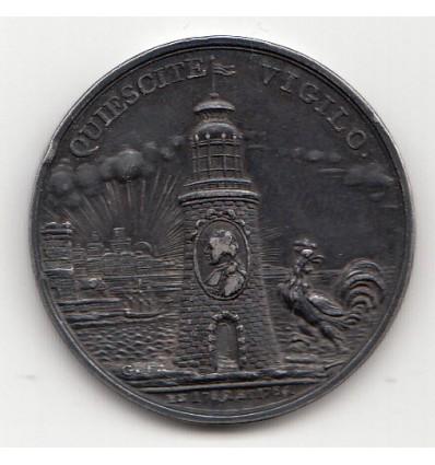 Jeton Illuminations de Marseille 1785-1786
