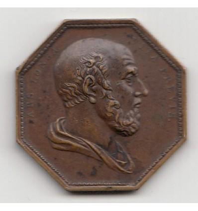 Jeton société médicale de Paris 1796