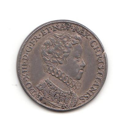 Jeton sacre de Louis XIII par Nicolas Briot 1610