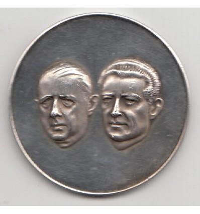 Visite de Charles de Gaulle au Mexique 1964