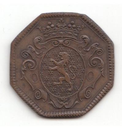 Jeton aux armes du marquis de Montmorin 1731