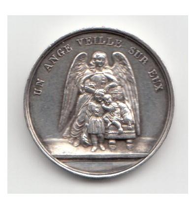 Jeton donné par le comte de Paris 1845