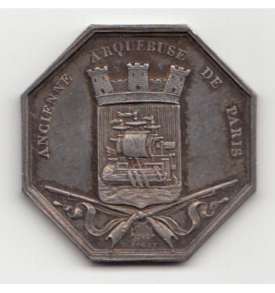Jeton cercle des carabiniers de Paris 1840