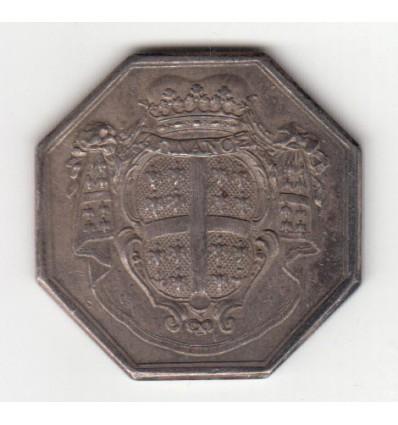 Jeton aux armes de A.L. de Montmorency 1768