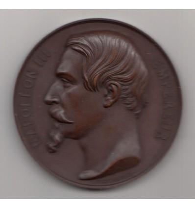 Napoléon III hommage au Maréchal de Saint-Arnaud 1854