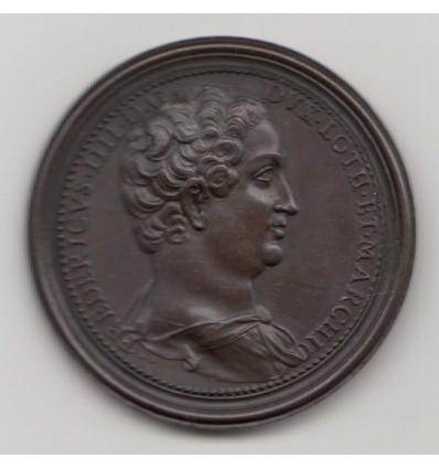 Lorraine, Ferry IV le lutteur et Elisabeth d'Autriche par Saint-Urbain s.d.