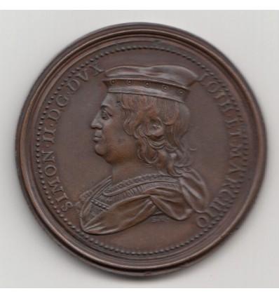 Lorraine, Simon II et Ide de Vienne  par Saint-Urbain s.d.