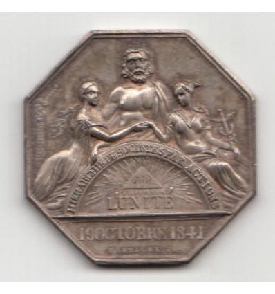 Jeton assurances l'Unité, comptoir de Vitry-Le-François 1845
