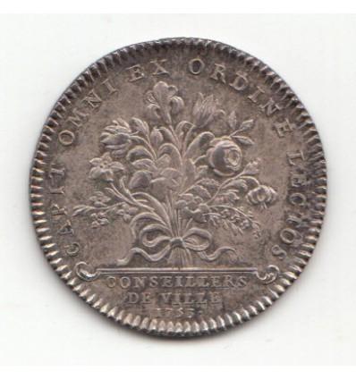 Jeton Louis XVI conseillers de ville 1753