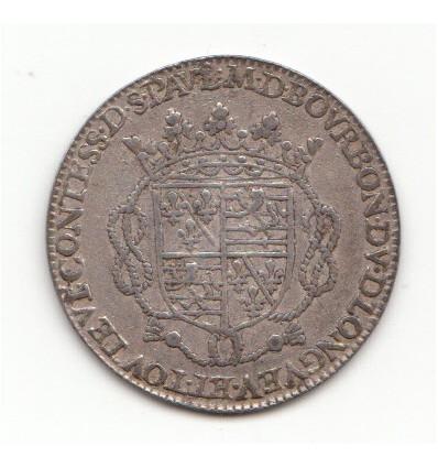 Jeton aux armes d'Henri d'Orléans-Longueville et Marie de Bourbon s.d.