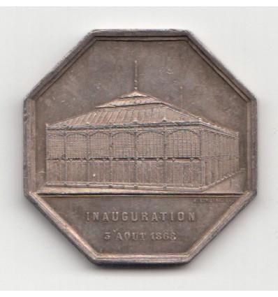 Jeton société du marché des Ternes 1868