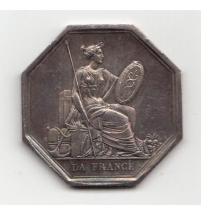 Jeton assurances la France, ordonnance royale de 1837