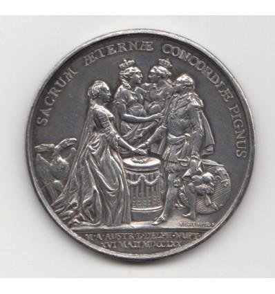 Louis XV mariage du Dauphin Louis et de Marie-Antoinette 1770