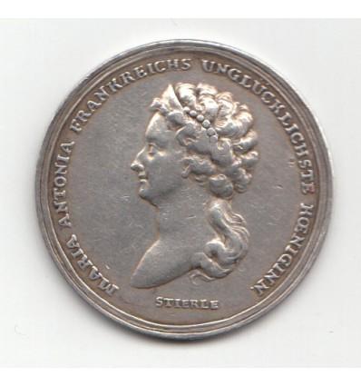 Mort de Marie-Antoinette par Stierle 1773