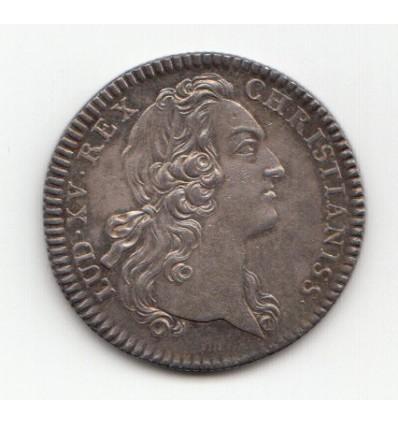 Jeton Louis XV et Marie Leszczynska s.d.