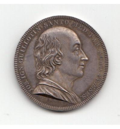 Jeton académie de médecine de Paris J.I. Guillotin 1807