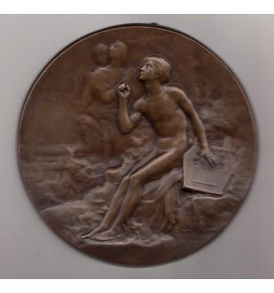 L'inspiration par Raoul Bénard s.d. ( 1911 )
