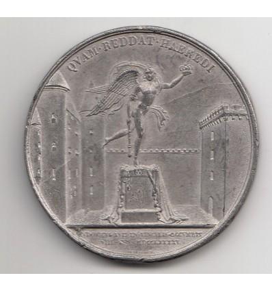 Décès de Louis XVII à la prison du Temple par Depaulis s.d.