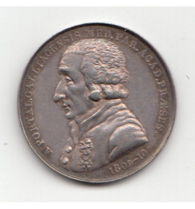 Jeton académie de médecine de Paris A. Portal 1818