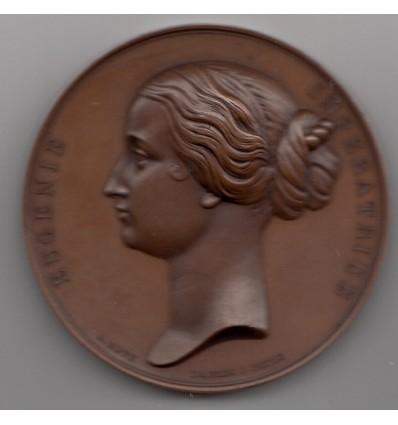 Visite d'Eugénie à la Banque de France 1866