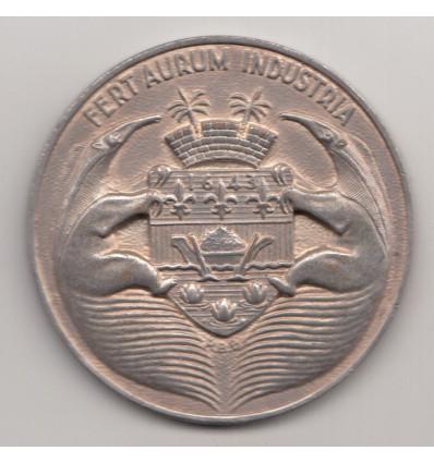Centenaire de la banque de Guyane par Baron 1955