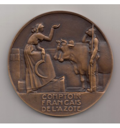 Comptoir français de l'Azote par Dammann 1932