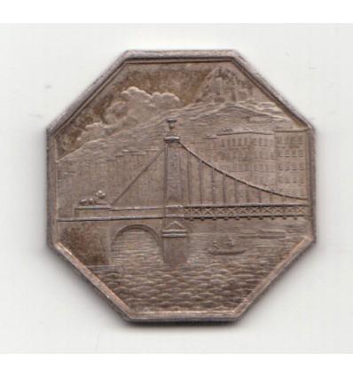 Jeton Compagnie des deux ponts sur la Saône à Lyon 1827