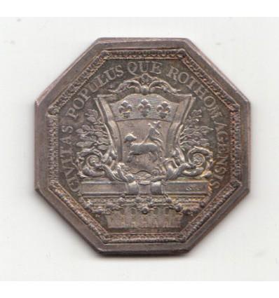 Jeton Louis XVI ville de Rouen s.d.