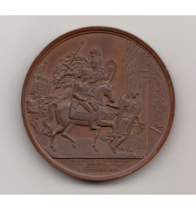 Louis Antoine, duc d'Angoulême retour victorieux d'Espagne 1823