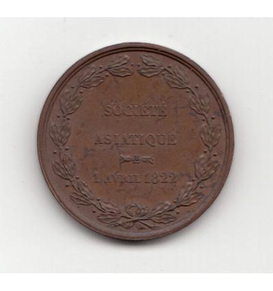 Louis XVIII fondation de la société asiatique 1822