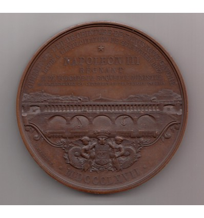 Napoléon III Chemin de fer de ceinture de Paris rive gauche 1867