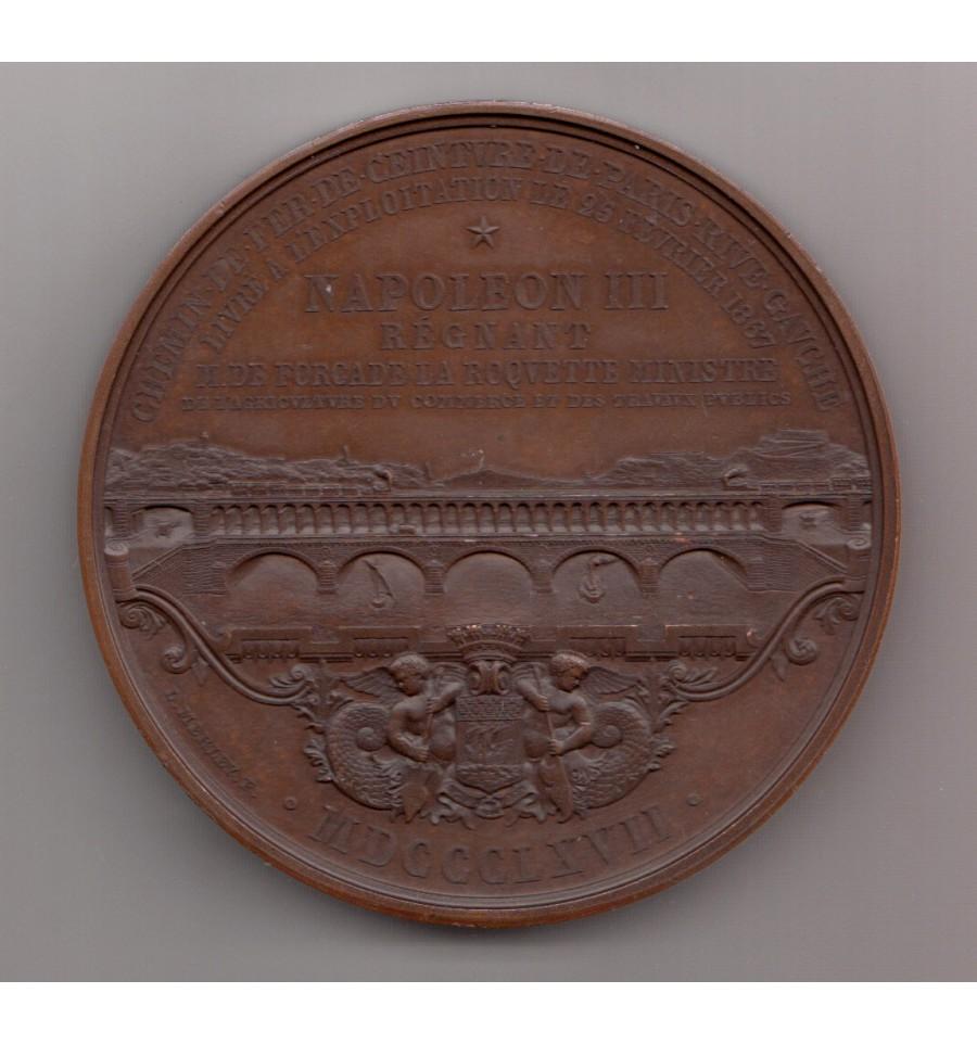 New York bon out x mode de luxe Napoléon III Chemin de fer de ceinture de Paris rive gauche 1867