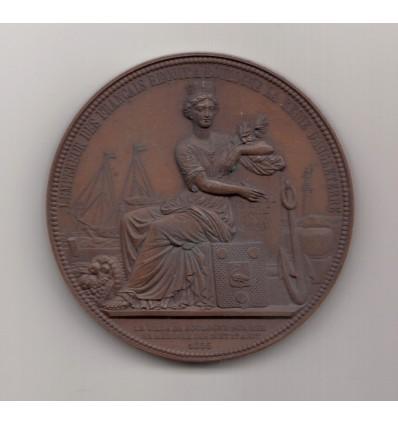 Napoléon III reçoit la reine d'Angleterre Victoria à Boulogne-sur-Mer 1855