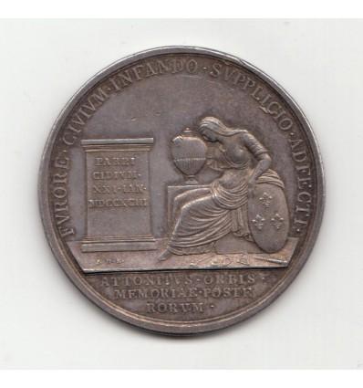 Convention mort de Louis XVI 1795