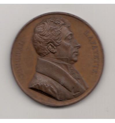 Etats-unis La Fayette défenseur de la liberté 1824