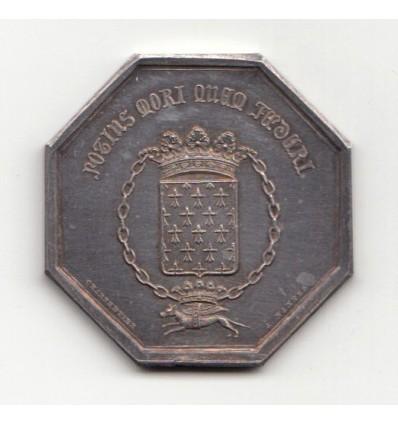 Jeton assurances la Bretagne 1842