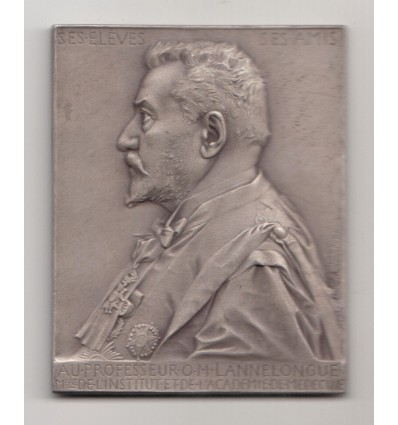 Le professeur Odilon Lannelongue par J-C. Chaplain 1901