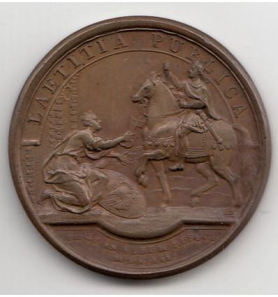 Louis XIV retour du Roi à Paris par Mauger 1652