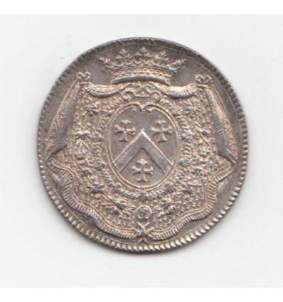 Jeton aux armes de Louis-Nicolas de Neufville, duc d'Alincourt s.d.