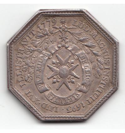 Jeton Louis XVI Ordre de Saint-Louis 1779