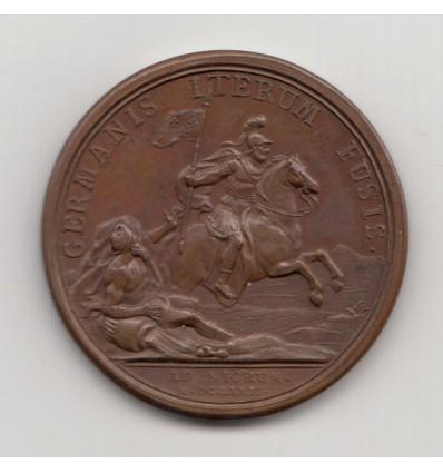 Louis XIV Combat de Landeburg par Mauger 1674