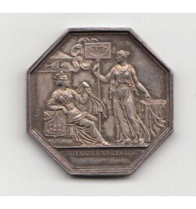 Jeton Compagnie d'assurance mutuelle contre l'incendie pour Paris 1847