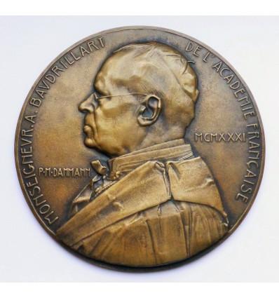 Alfred Baudrillart, cardinal et membre de l'Académie Française par Pierre Dammann 1931